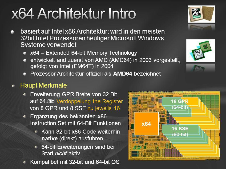 [Course Title] [Module Title] x64 Architektur Intro.